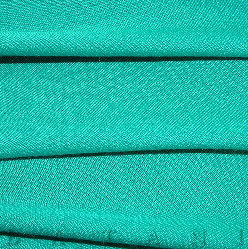 Viskózový úplet tyrkysově zelený