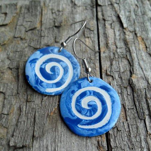 Modré spirály