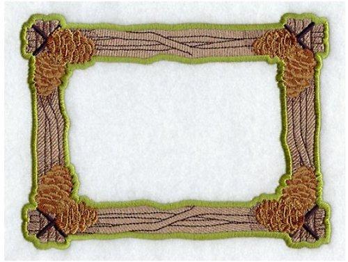 Celovyšitý magnetický rámeček na fotky Borovice