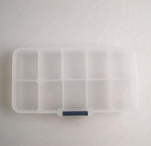Plastový box na komponenty menší/ 13x7cm/ 1ks