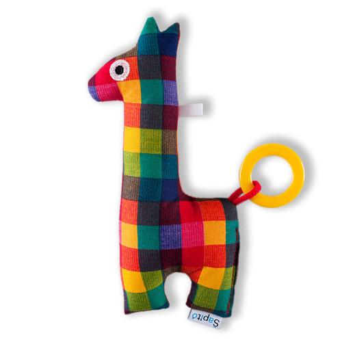 Žirafa pestrá 02 - hračka / bez chrastítka