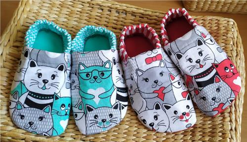 Capáčky - kočky (mentol a červené)
