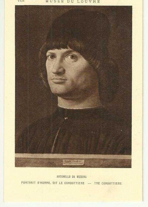Umělecká pohlednice Antonello Da Messina