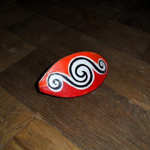 Červenooranžová spirála
