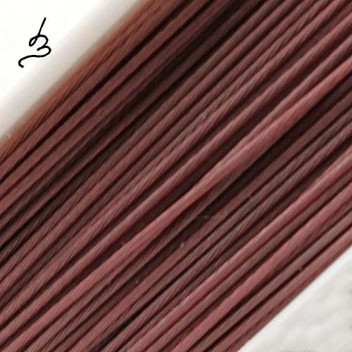 Ocelové lanko starorůžové 0,45