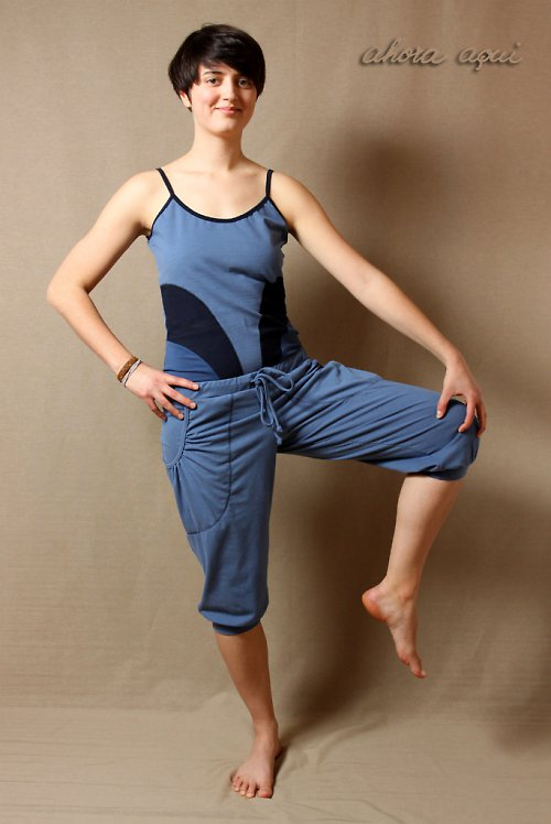 CHETANA PANTS BLUE
