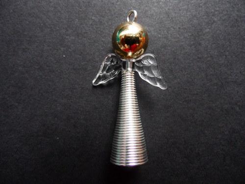 Vánoční andílek - zlatý