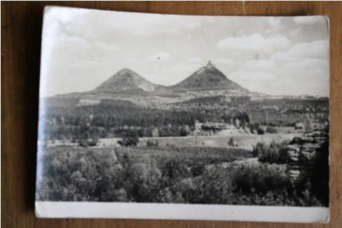 Pohlednice - hrad Bezděz