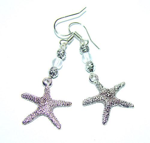 náušnice  hvězdice
