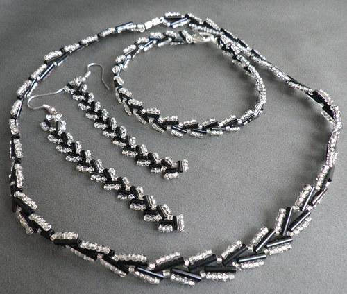 náhrdelník + náramek + náušnice S3