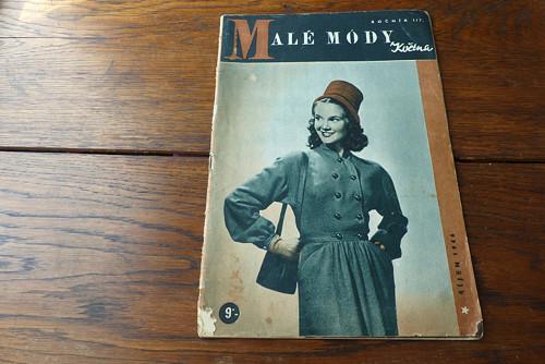 Příručka časopisu Žena a Móda 7/ 1946