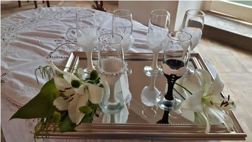 Svatební sklenice