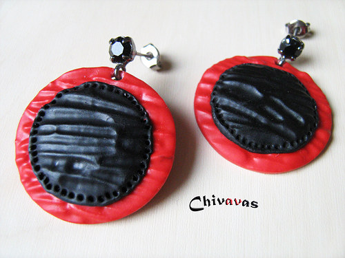 Černočervené