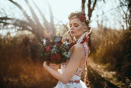 """Svatební kytice \""""sladké pokušení\"""""""