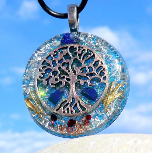 Strom Života K1 * Amulet * Lápis s Granátky