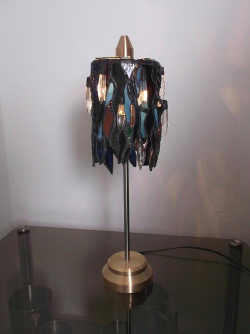 tiffany stolní lampa TEKLA