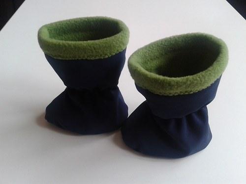 Softshellové botičky