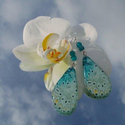 Náušnice motýl - mot59