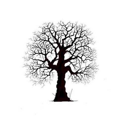 Silikonové razítko Lavinia / Oak Tree