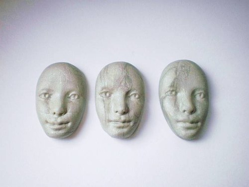 obličej - kabašon - obšívací