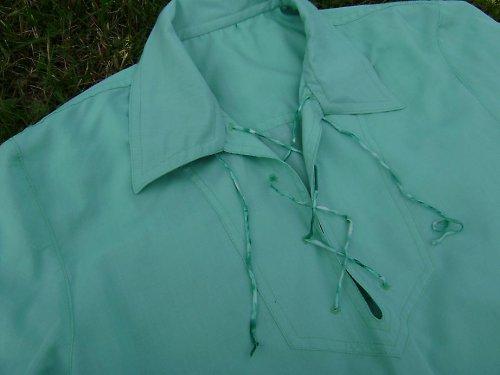Mátově zelená košile,vel.46