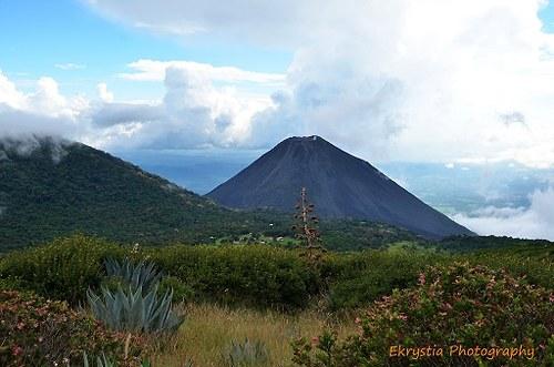Sopka Yzalco, El Salvador