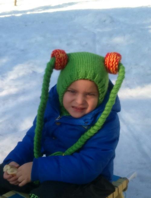 Dětská zimní kukla Fanynka Kouzelná