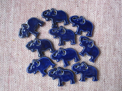 přívěsek slon pro štěstí