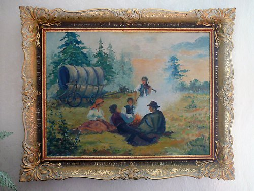 Obraz Kočovníci