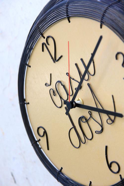 času dost... drátované hodiny