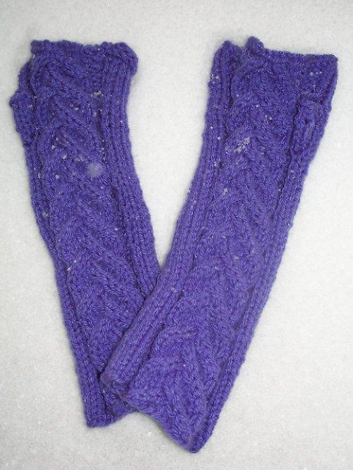 Ručně pletené návleky