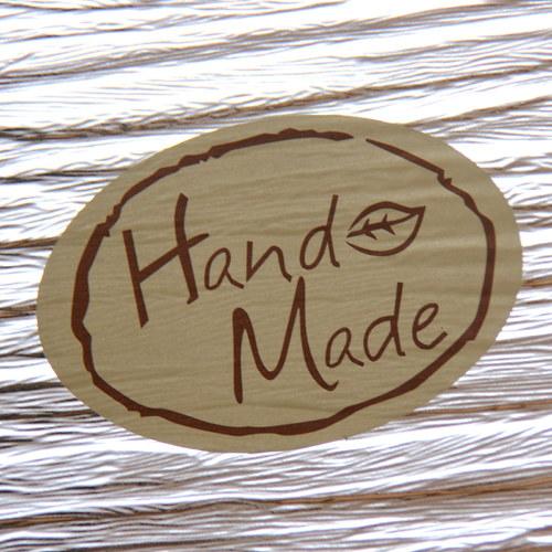 Samolepky Hand Made, 10 ks