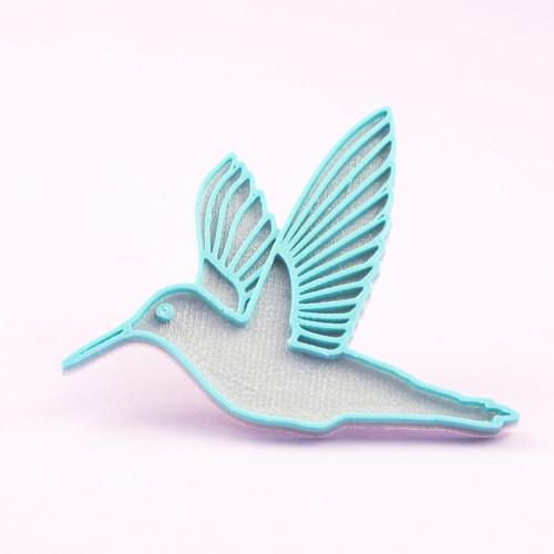 Kolibřík silver/teal blue