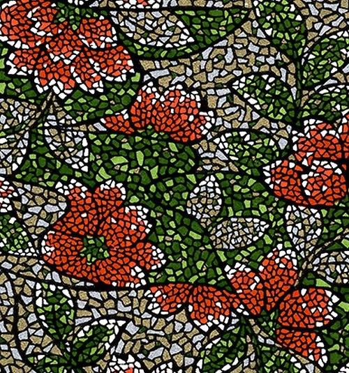 Handmade papír - Mozaika