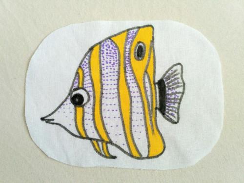 nažehlovačka - rybka - zobec obecný