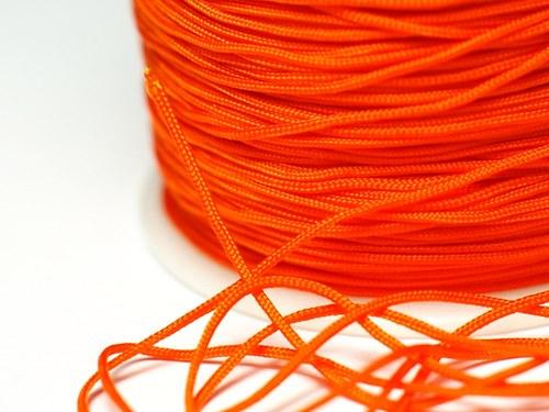 1m šňůrka 0,7mm- oranžová