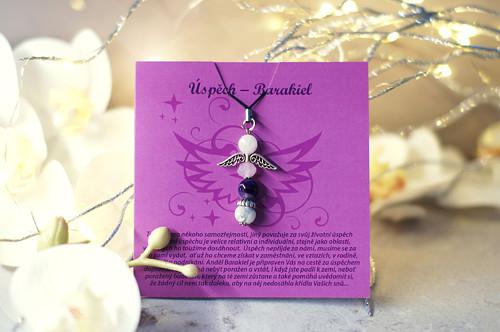 Andělská přání - Úspěch, Barakiel s poutkem