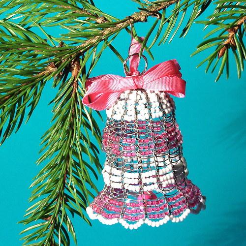 """Drátované Vánoce .....zvoneček \""""žužu\"""""""
