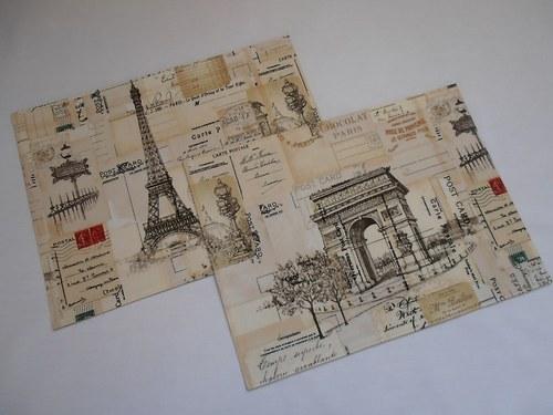 Prostírání  Paris