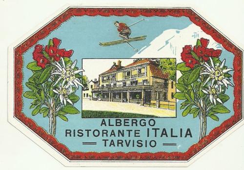 Hotelové nálepky Ristorante Italia