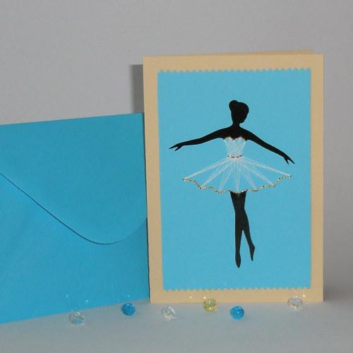 Baletka modrá