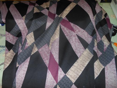 Hladký pevnější úplet -geometrie