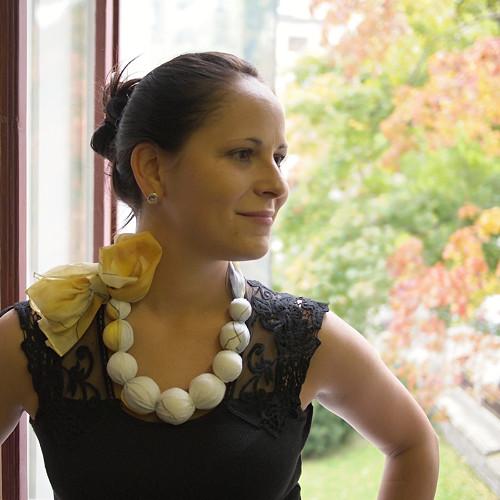 Korále hedvábné - Matylda