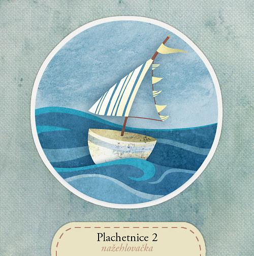Plachetnice - nažehlovačka