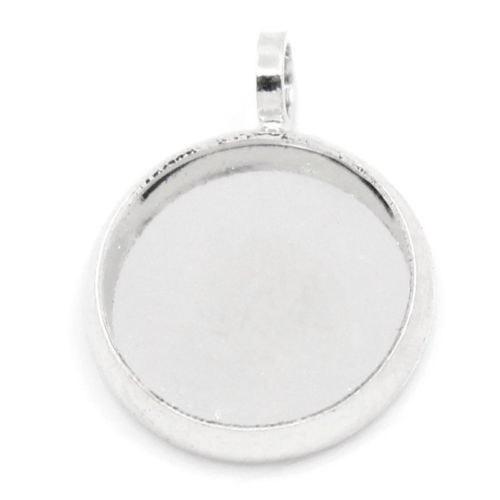 Lůžko 10mm stříbrné
