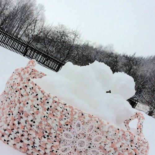 Košík na sníh
