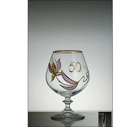 Výroční sklenice