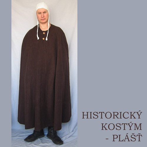 HISTORICKÝ KOSTÝM - PLÁŠŤ