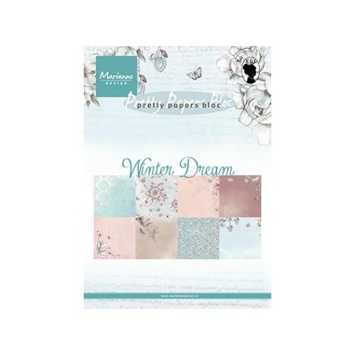 Marianne Design - Winter Dream A5 - 8 ks