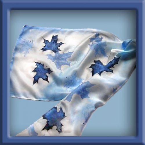 Un érable bleu
